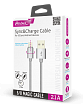 картинка Кабель USB 2.0 - MAGIC 5/8 (microUSB+Lightning), 1м, 2.1А, Partner